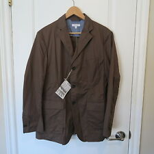 Engineered Garments Olive Green Lightweight High Count Twill Baker Jacket Medium