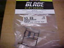 BLADE HELICOPTER PART - BLH-2722 = LANDING SKID & BATTERY MNT : SCOUT CX  (NEW)