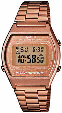 OROLOGIO MODA DIGITALE VINTAGE CASIO B640WC-5AEF COLOR BRONZO RETRO-ILLUMINATO