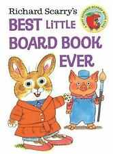 Best Little Board Book Ever by Richard Scarry c2013, NEW Board Book