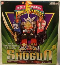 Mighty Morphin Power Rangers MMPR Year 2 Deluxe Shogun Megazord Shogunzords MIB
