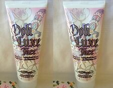 LOT OF 2 Ed Hardy OOH LA LUXE For Faces Facial Cream Bronzer Tanning Lotion