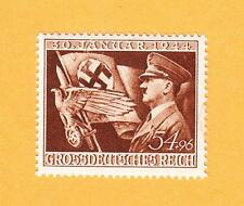 Nazi Germany PLATE FLAW Jagged Crack Line Between J&A Hitler Michel 865 MNH  C