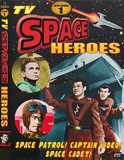 TV SPACE HEROES Vol 1- SPACE PATROL, TOM CORBETT, CAPT. VIDEO