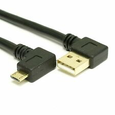 USB 2.0 Double Right Angle A to Micro-B Cable