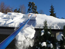"""AVALANCHE AVA750 ROOF RAKE 16' SNOW REMOVAL SYSTEM 17""""x 12"""" Slide 3"""" Wheels"""