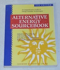 ALTERNATIVE ENERGY SOURCEBOOK 7th Edition Guidebook BOOK Off The Grid Living