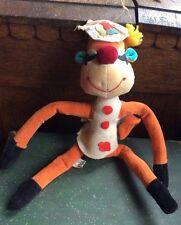 Vintage 1960s Dakin  Like Dream Pet Goofy Monkey Sawdust Stuffed Japan