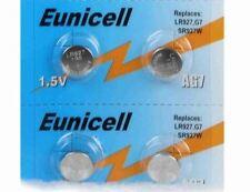 Eunicell set of 4 battery alkaline AG7 G7 LR927,395 1.55V