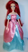 Retired Disney Store PRINCESS Ariel in Deluxe Wardrobe Dress Little Mermaid Doll