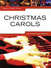 Really Easy Piano Christmas Carols Learn to Play Beginner Xmas Songs Music Book