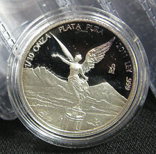 2011 Mexican Libertad 1/10 oz .999 Silver Round Proof Coin - ONLY 10,000 MINTED!
