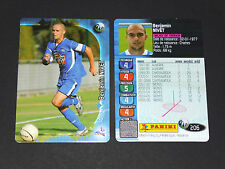 BENJAMIN NIVET TROYES ESTAC AUBE PANINI FOOTBALL CARD 2006-2007
