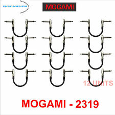6 inch Mogami patch cables -Guitar Bass Effects Instrument  - 12 Cables