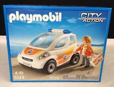 NEW Playmobil #5543 City Action Beach Rescue Ambulance Vehicle  Age 4+