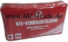 DIN Geprüft Auto Verbandtasche KFZ Verband Tasche Koffer Erste Hilfe Kasten 2018