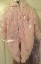 next baby girl pink snowsuit bnwt 0-3 months. Warm winter coat all in one jacket