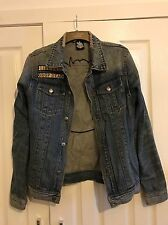 Drop Dead Denim Jacket Size Large