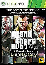 Grand Theft Auto IV Liberty City, The Complete Edition Microsoft Xbox 360 GTA 4