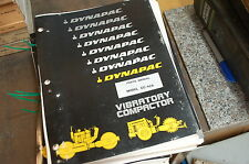 DYNAPAC CC42A Vibratory Compactor Roller Parts Manual book catalog list spare