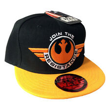 STAR WARS JOIN THE RESISTANCE OFFICIAL SNAPBACK ADJUSTABLE CAP HAT