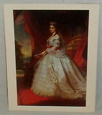 Princess Cruises Menu Empress Carlotta by Albert Graefle Vtg