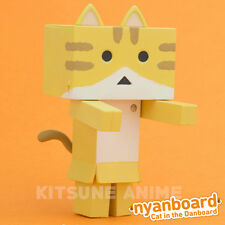 Yotsuba Nyanboard Figure Collection Tabby Danboard Cat Kitty Japan Kawaii Nyanbo