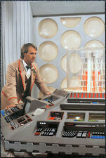 DOCTOR WHO POSTER . PETER DAVISON - TARDIS INTERIOR - PLANET OF FIRE