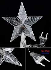 Christmas Tree Topper Star Lamp Multi Color Fairy Decoration LED Lights