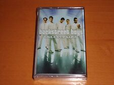 "BACKSTREET BOYS ""MILLENNIUM"" CASSETTE TAPE RARE! NEW & SEALED!"