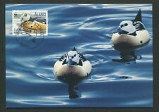 ALAND MK FAUNA WWF ENTE ENTEN DUCK MAXIMUMKARTE CARTE MAXIMUM CARD MC CM d8306
