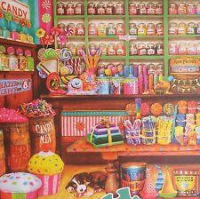 jigsaw puzzle 2000 pc Sweet Shop Aimee Stewart Buffalo Games