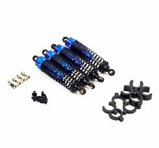 HSP RC CAR PRO 1/10 XSTR Buggy Front & Rear Blue aluminium shock absorbers (4)
