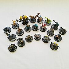 Lot of 21 Mage Knight Figures Miniatures Models RPG Dungeons And Dragons D&D