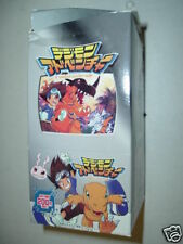 Japan Digimon Trading Card Collection Light Box 15 Booster packs