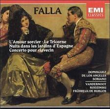 Falla: L'Amour sorcier; Le Tricorne; Nuits dans les jardins d'Espagne; (cd4142).