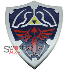 Legend of Zelda Link Breath the Wild Wooden Shield LARP Cosplay Weapon Costume
