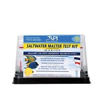 API Saltwater Master Test Kit High Range pH Ammonia Nitrite Nitrate fish Testing