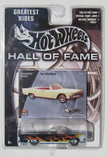 HOT WHEELS HALL OF FAME GREASTEST RIDES '64 LINCOLN RED LINE TIRES