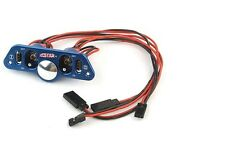 Heavy Duty Metal Dual Power Switch w/ Fuel Dot Blue for RC Heli Car Boat F08029