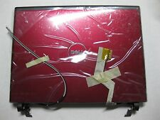 New Dell Vostro 1220 12.1inch Red LCD Back Cover with Hinges Assembly - G969P --