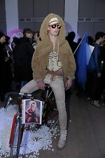 Bernhard Willhelm Fall 2011 men's teddy bear jacket fake fur coat raised ring