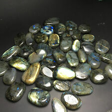 1000g Wholesale Natural Labradorite Crystal  Polished Rock From Madagascar 02624