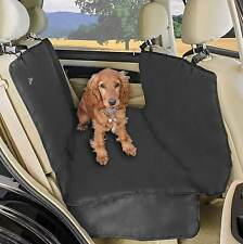 NEW Waterproof Car Rear Back Seat Cover Pet Dog Cat Protector Hammock Mat Black