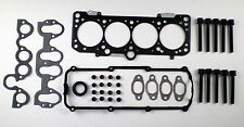 HEAD GASKET SET BOLTS GOLF Mk 3 GTi PASSAT VENTO SHARAN CORRADO A6 2.0 8V 94-00