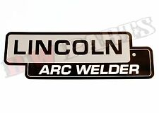 "Lincoln SA-200 SA-250 ""Lincoln Arc Welder"" Nameplate BW683"