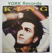 "KING - Won't You Hold My Hand Now - Excellent Condition 7"" Single CBS A 6094"