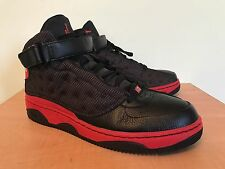 Nike Air Jordan Force Fusion 13 XIII size 13 Bred AJF 13 Black Red VNDS