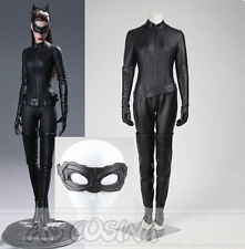 Batman The Dark Knight Rises Selina Kyle Catwoman Cosplay Costume Halloween Suit