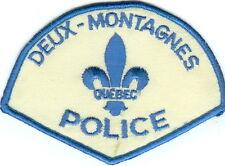 Deux-Montagnes Police QC Quebec Canada Patch VINTAGE!!